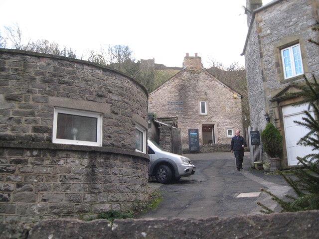 Castleton Peveril Castle-Derbyshire