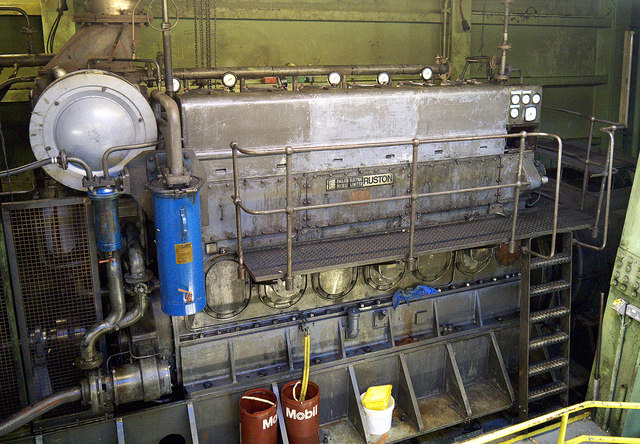 Engine in 'Samson', Belfast