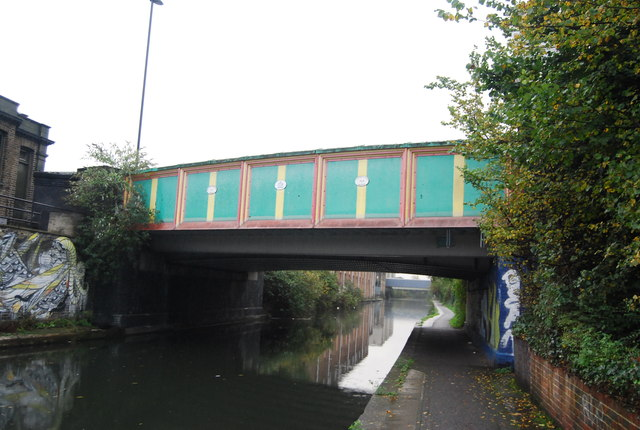 Bridge 9 Acton Lane Grand Union Canal