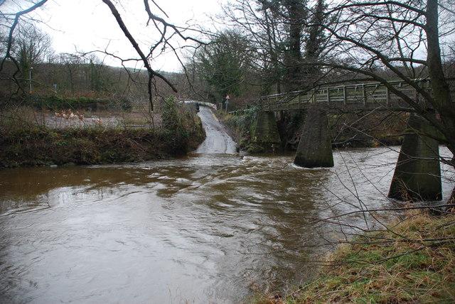 River Esk Ford at Grosmont