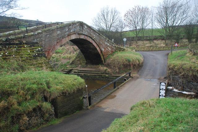 Duck Bridge Ford near Danby