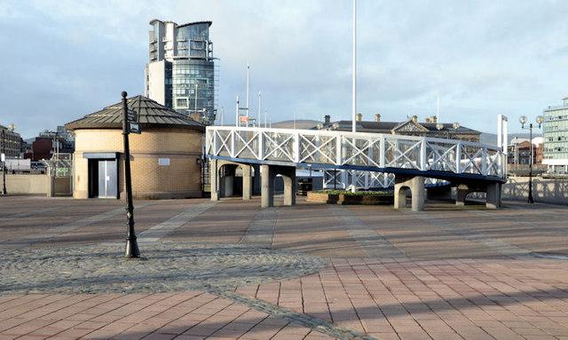 The Lagan Weir footbridge, Belfast (3)