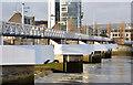 J3474 : The Lagan Weir footbridge, Belfast (4) by Albert Bridge