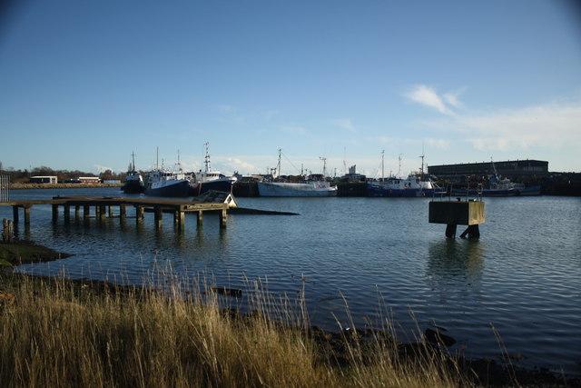 View across Lake Lothing