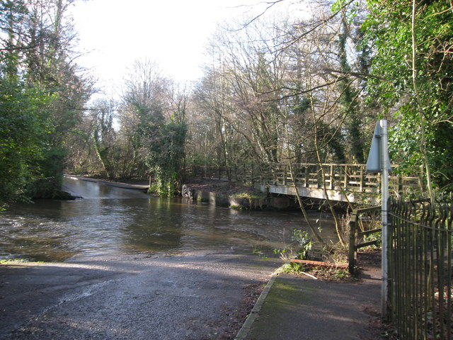 The ford at Lindford