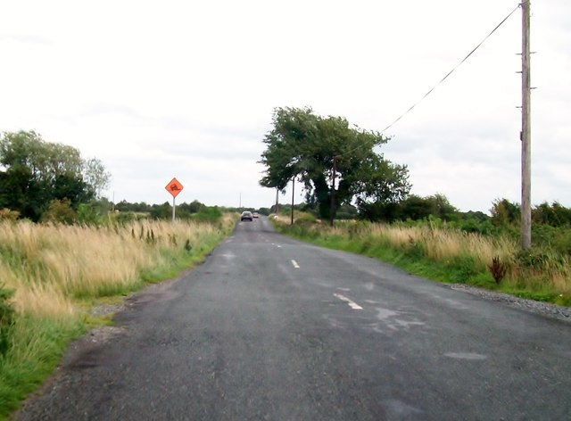 The R357 west of Boora