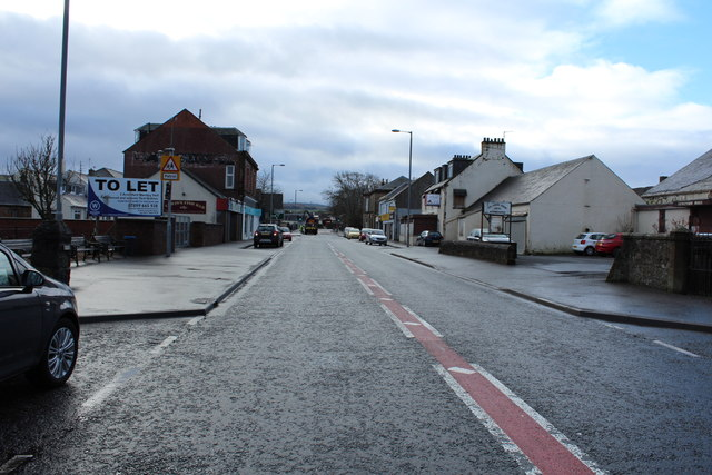 A76 to Dumfries at New Cumnock
