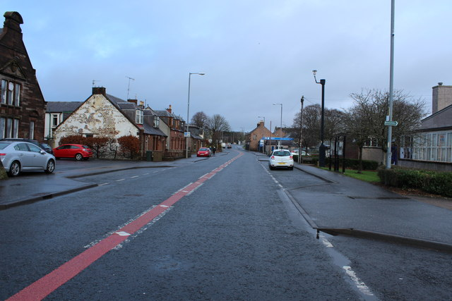 A76 to Kilmarnock at New Cumnock