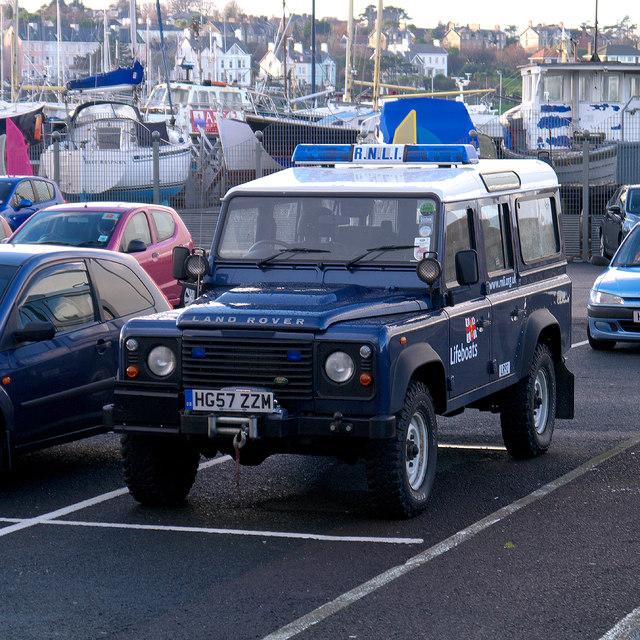 RNLI Land Rover, Bangor