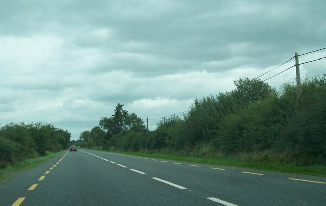 The N52 just south of the Offaly/Westmeath county border