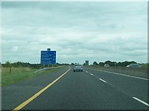 N3434 : The east-bound carriageway of the M6 just east of Junction 5 by Eric Jones