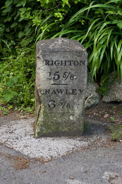 Milestone, Povey Cross Road