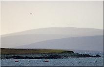 HU5999 : Wester Tail, Uyea by Mike Pennington