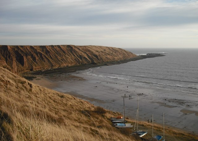Carr Naze from Filey Country Park