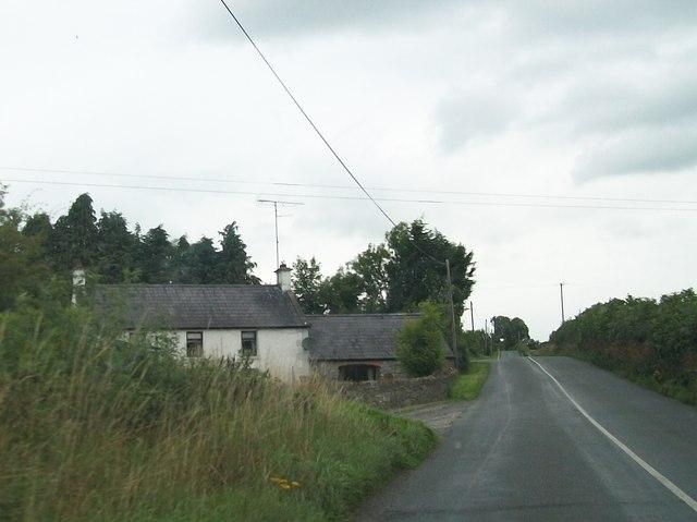 House alongside the Newcastle Road near the Cavan/Meath border