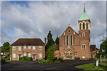 TQ2550 : Church of the Holy Family by Ian Capper