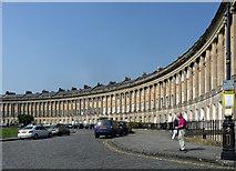 ST7465 : Royal Crescent, Bath (2) by Stephen Richards