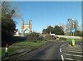 TR0145 : A251 junction with Sandyhurst Lane by Stuart Logan