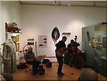 SP3165 : Songs at an exhibition, Leamington Art Gallery and Museum by Robin Stott