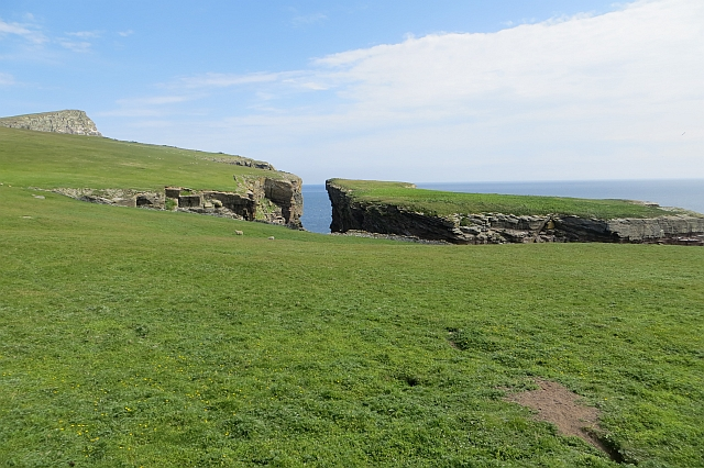 Cradle Holm and Noss Head