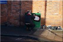 TA0830 : Street Art down Newland Avenue, Hull by Ian S