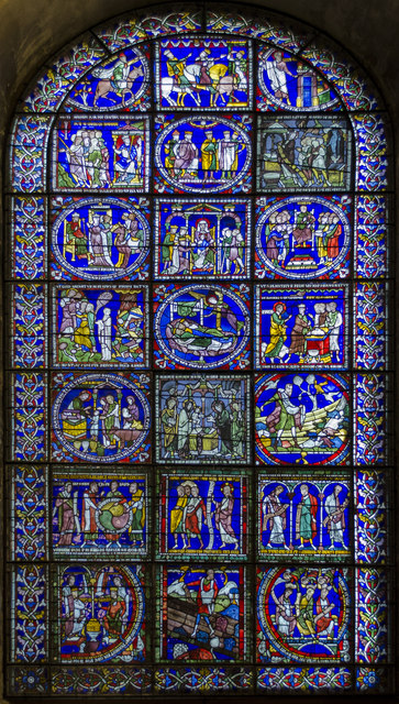Second Typological Window, Canterbury... © Julian P