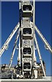 SJ8498 : Detail of the Manchester Wheel, Piccadilly Gardens by Andrew Hill
