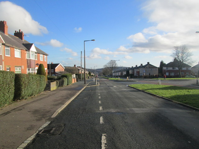 Ovenden Way - viewed from Vegal Crescent
