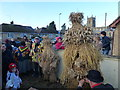 TL2696 : The three bears - Whittlesea Straw Bear Festival 2014 by Richard Humphrey