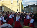 TL2696 : Rivington Morris at Letter B - Whittlesea Straw Bear Festival 2014 by Richard Humphrey