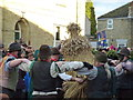TL2696 : Old Glory Molly dance round straw bear - Whittlesea Straw Bear Festival 2014 by Richard Humphrey