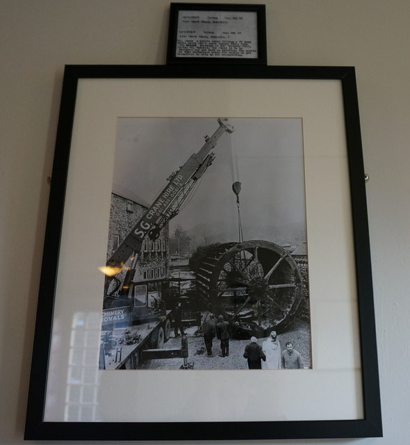 Victoria Mill, raising of the wheel