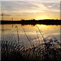 SO8624 : Chelt flood reflections, 2 by Jonathan Billinger