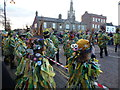 TL2797 : Bourne Borderers Morris on The Market Place - Whittlesea Straw Bear Festival 2014 by Richard Humphrey
