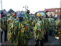 TL2797 : Watching the dancers - Whittlesea Straw Bear Festival 2014 by Richard Humphrey
