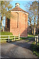 SO4844 : Dovecote at Burghill by Philip Halling