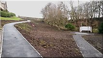 NT9953 : Newly relaid paths in Coronation Park by Graham Robson