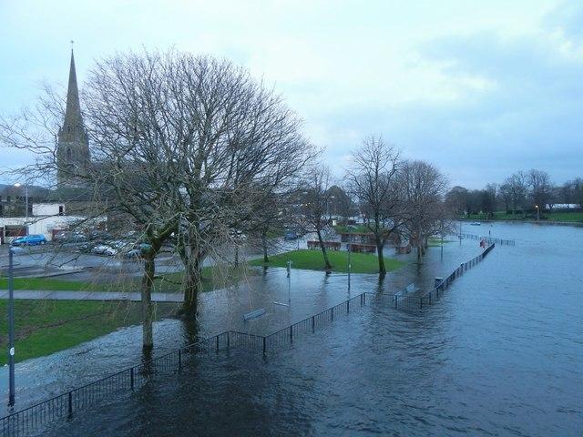 Flooding at Riverside Lane
