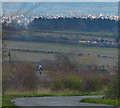 SK6607 : Horse rider on Hungaton Lane by Mat Fascione
