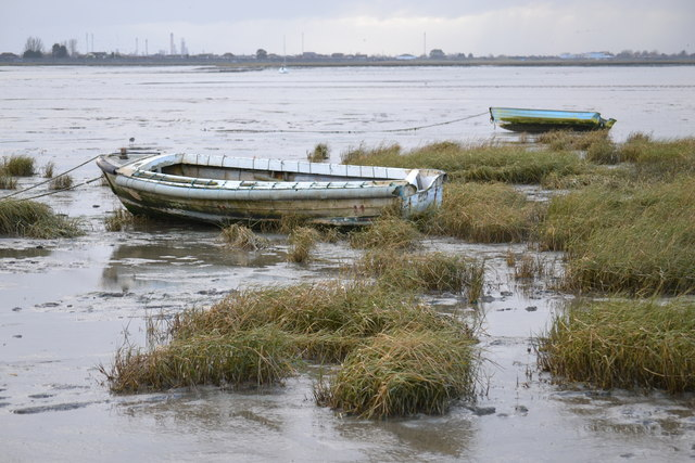 Mud flats at Leigh-on-Sea