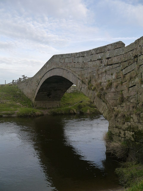 An Old Bridge Over The River Till