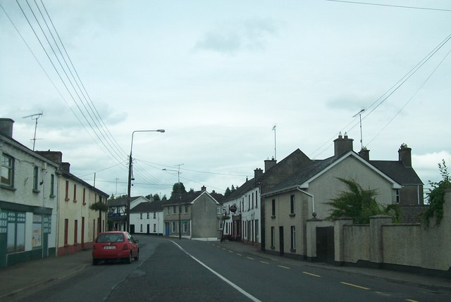 View north along Main Street, Delvin