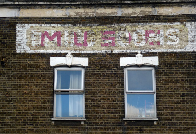 Ghost sign, Forest Gate
