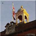 TQ9220 : Cupola, Rye Town Hall by Ian Taylor