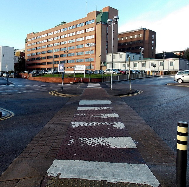 Pedestrian crossing to the Royal Gwent Hospital, Newport