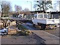 SK5738 : Robin Hood Way at Queen's Walk by Alan Murray-Rust