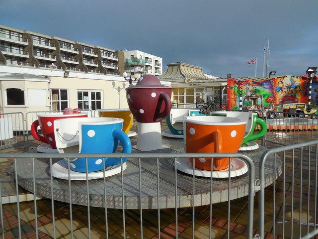 Teacups Ride - Worthing Lido