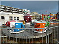 TQ1402 : Teacups Ride - Worthing Lido by Paul Gillett