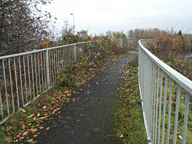Footpath to Kelburn Park