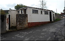 ST7593 : Disused public toilets in Wotton-under-Edge by Jaggery